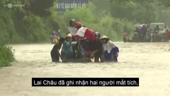 Nhiều người mất tích, giao thông tê liệt do mưa lũ các tỉnh Tây Bắc