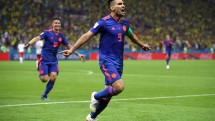 thua tham colombia ba lan som chia tay world cup