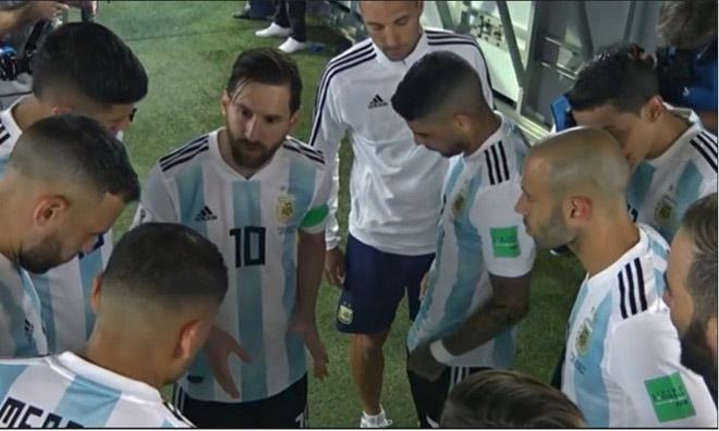 argentina lot xac messi chi dao chien thuat hlv thanh bu nhin