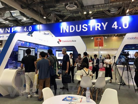communicasia 2019 dau an san pham cong nghe make in vietnam