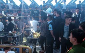 Gần 200 người dương tính ma túy trong quán bar ở Đồng Nai