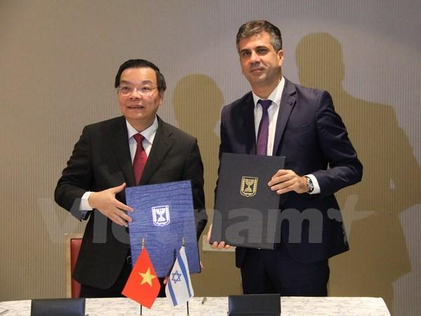 Khoa học và công nghệ là trọng tâm hợp tác Việt Nam-Israel