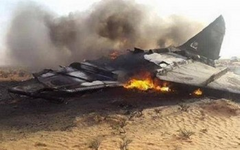 yemen ban ha mot may bay chien dau cua saudi arabia