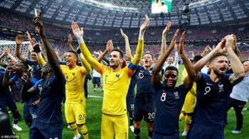 vo dich world cup 2018 dt phap an mung cuong nhiet duoi mua