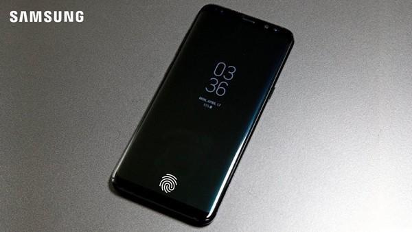 tat ca smartphone ra mat nam 2019 cua samsung deu co cam bien van tay tren man hinh