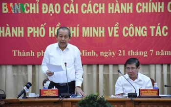 """PTT Trương Hòa Bình: """"TPHCM cần đẩy mạnh cải cách hành chính"""""""
