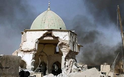 iraq muon nga giup phuc hoi cac di san van hoa bi is pha huy