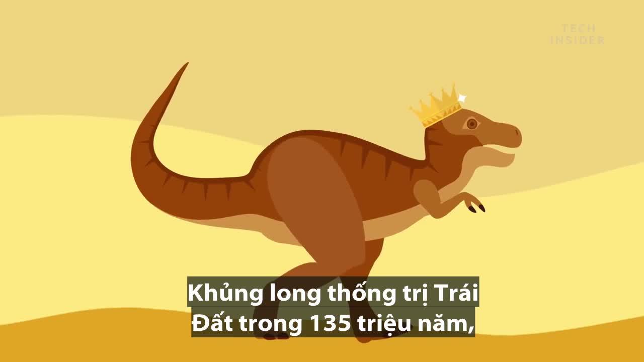 qua trinh thong tri the gioi va diet vong cua khung long