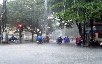 Hoàn lưu bão số 7, miền Bắc mưa trên diện rộng
