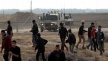 israel no sung vao nguoi bieu tinh o gaza