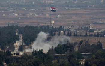 israel tiep tuc khong kich cac vi tri cua quan doi syria