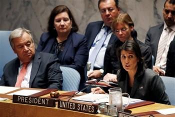 Mỹ kêu gọi HĐBA LHQ họp khẩn vì Nga vi phạm lệnh trừng phạt Triều Tiên