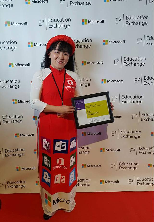 Cô giáo duy nhất nhận giải thưởng Phụ nữ Việt Nam 2017