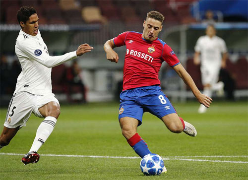 real madrid thua cska moskva tai champions league