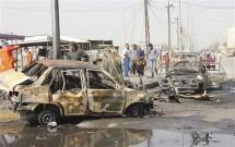 iraq hang chuc nguoi thuong vong trong vu tan cong bang xe bom