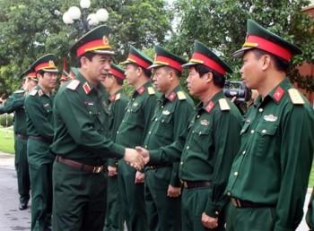Trung tướng Phan Văn Giang thăm, kiểm tra tại Sư đoàn 968 (Quân khu 4)