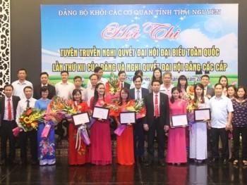 Hội thi tuyên truyền Nghị quyết Đại hội lần thứ XII của Đảng và Nghị quyết Đại hội Đảng các cấp