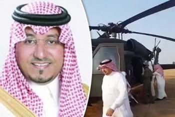 hoang tu saudi arabia tu nan trong vu roi may bay truc thang