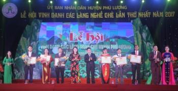 Lễ hội Vinh danh các làng nghề chè huyện Phú Lương lần thứ nhất