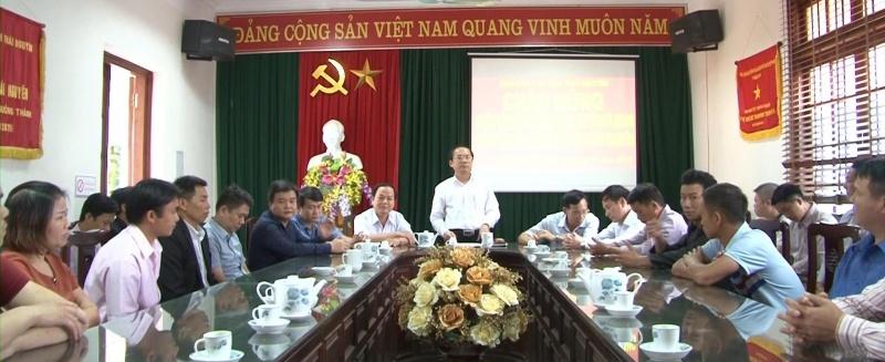 doan can bo tinh ha giang tham lam viec tai thai nguyen