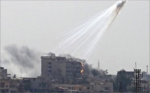 nga to lien minh do my dan dau dung bom phot pho trang tan cong syria