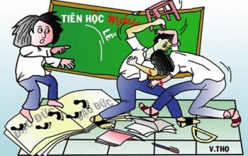 """Phương thuốc trị """"bệnh"""" bạo lực học đường"""