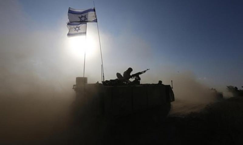 phi co va xe tang israel tan cong gaza