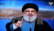 lanh dao phong trao hezbollah tuyen bo se quay tro lai israel