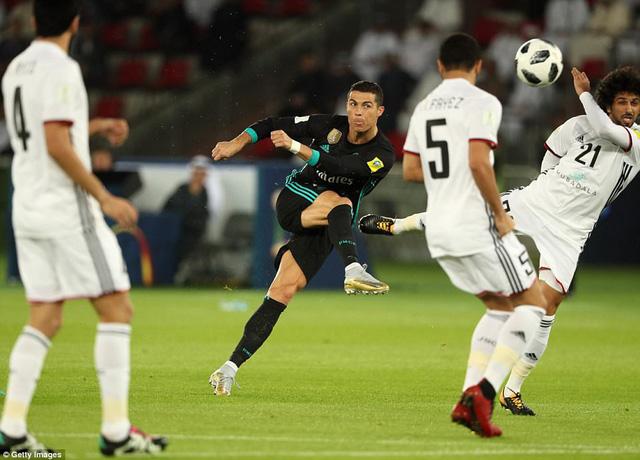 cronaldo va bale ghi ban real madrid vao chung ket fifa club world cup
