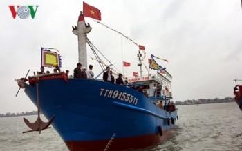 Thừa Thiên-Huế hạ thủy tàu vỏ thép thứ 4 đóng mới theo Nghị định 67