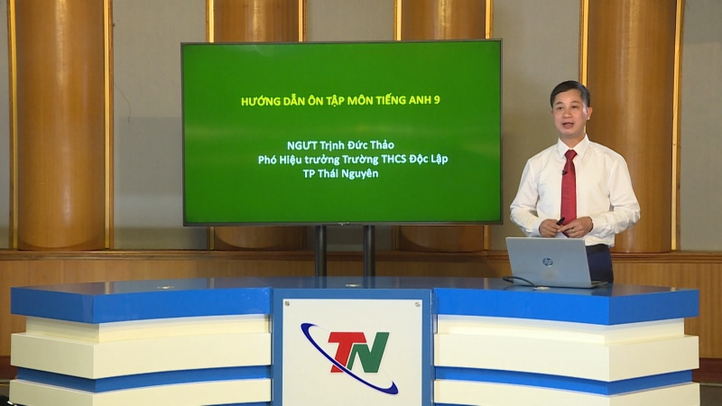 huong dan on tap mon tieng anh lop 9