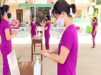 TP. Thái Nguyên: Chuẩn bị các điều kiện đón học sinh trở lại trường