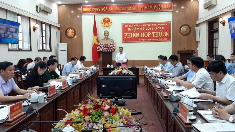 phien hop toan the lan thu 38 ubnd tinh thai nguyen