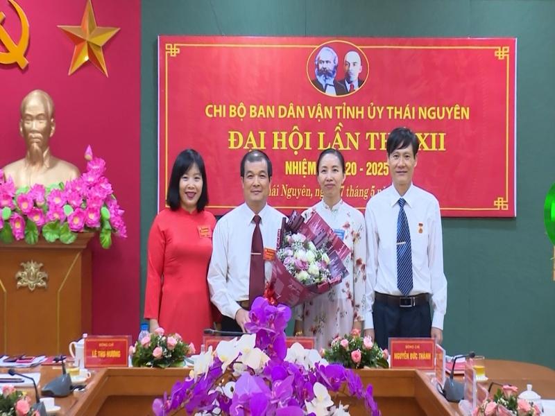 dai hoi chi bo ban dan van tinh uy lan thu xii nhiem ky 2020 2025