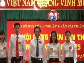 dai hoi dang bo htx cong nghiep va van tai chien cong lan thu iii nhiem ky 2020 2025
