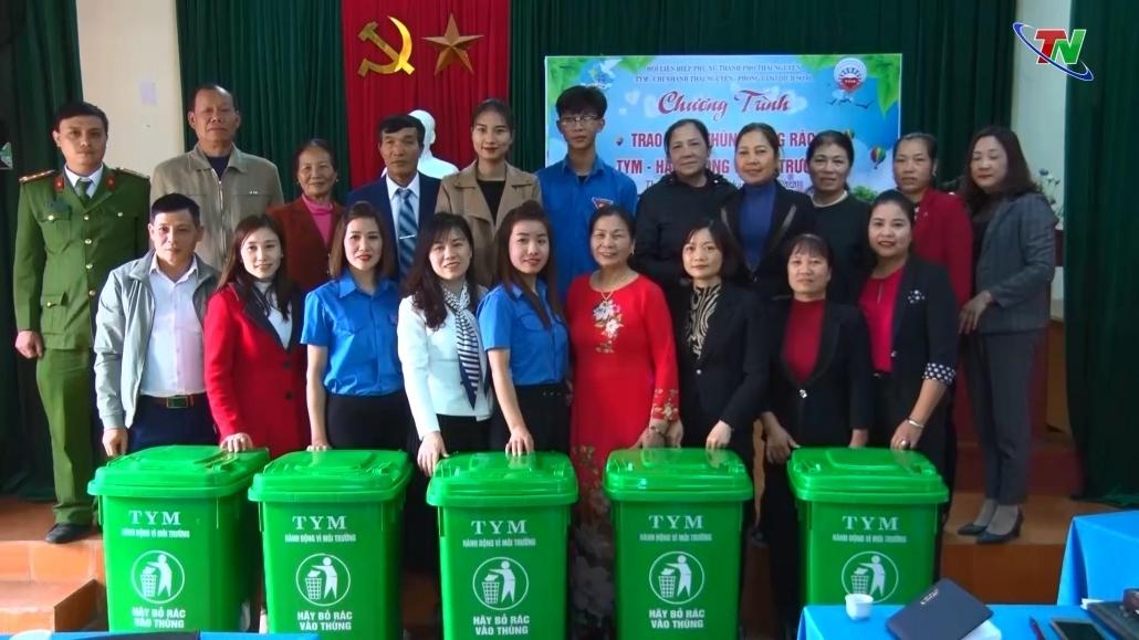 Phát huy vai trò phụ nữ trong bảo vệ môi trường
