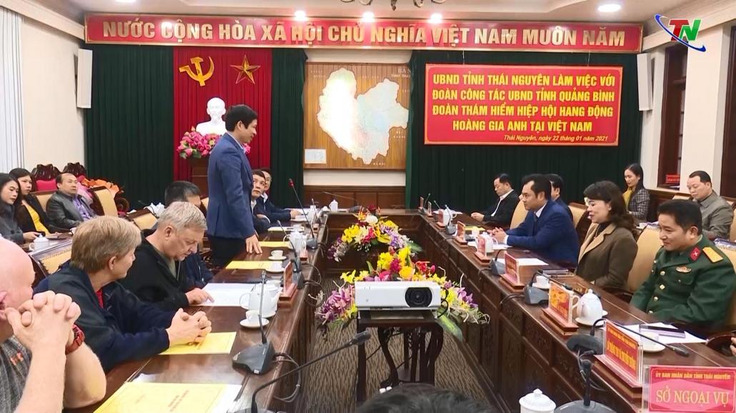 Khai thác tài nguyên hang động phát triển du lịch Thái Nguyên