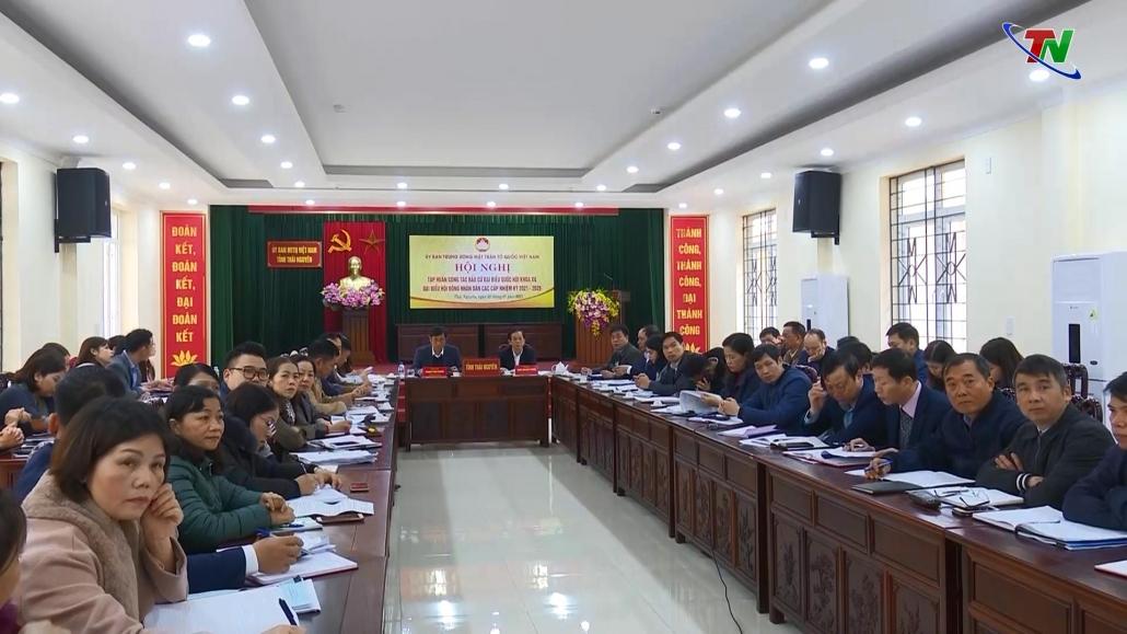 Tập huấn công tác bầu cử đại biểu Quốc hội, HĐND các cấp nhiệm kỳ 2021-2026