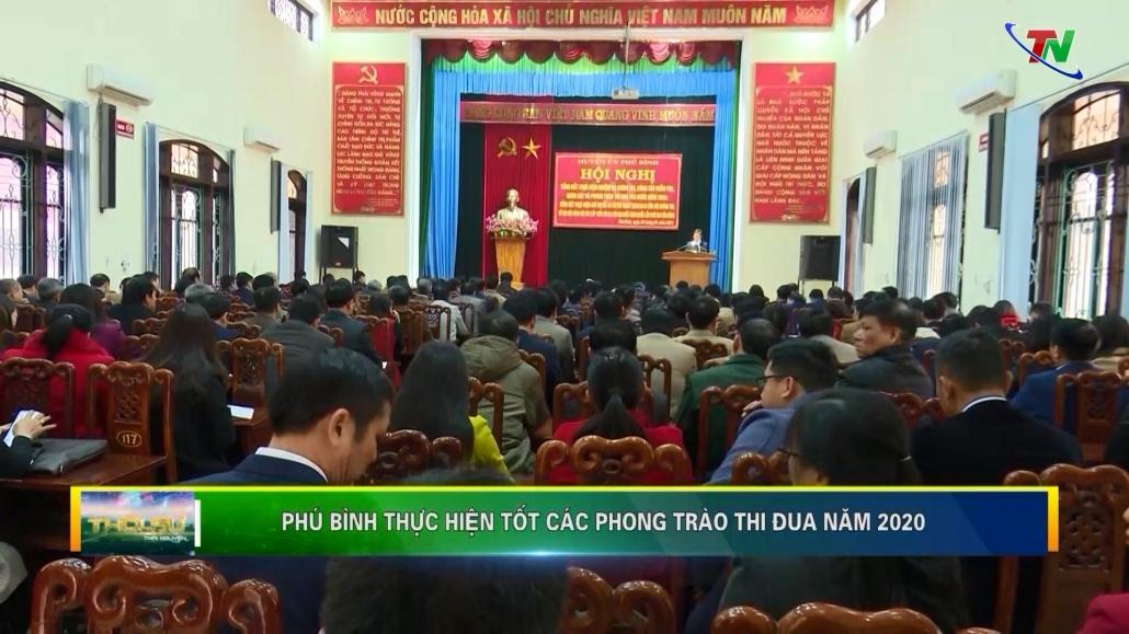 Phú Bình thực hiện tốt các phong trào thi đua năm 2020