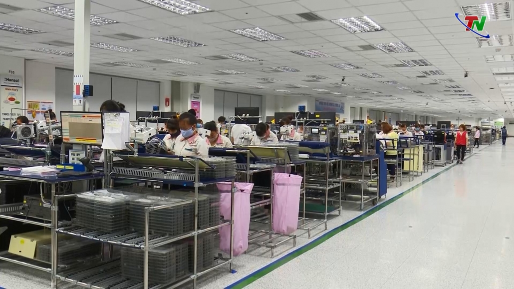 Thái Nguyên: Tổng doanh thu tại các khu công nghiệp đạt trên 29 tỷ USD