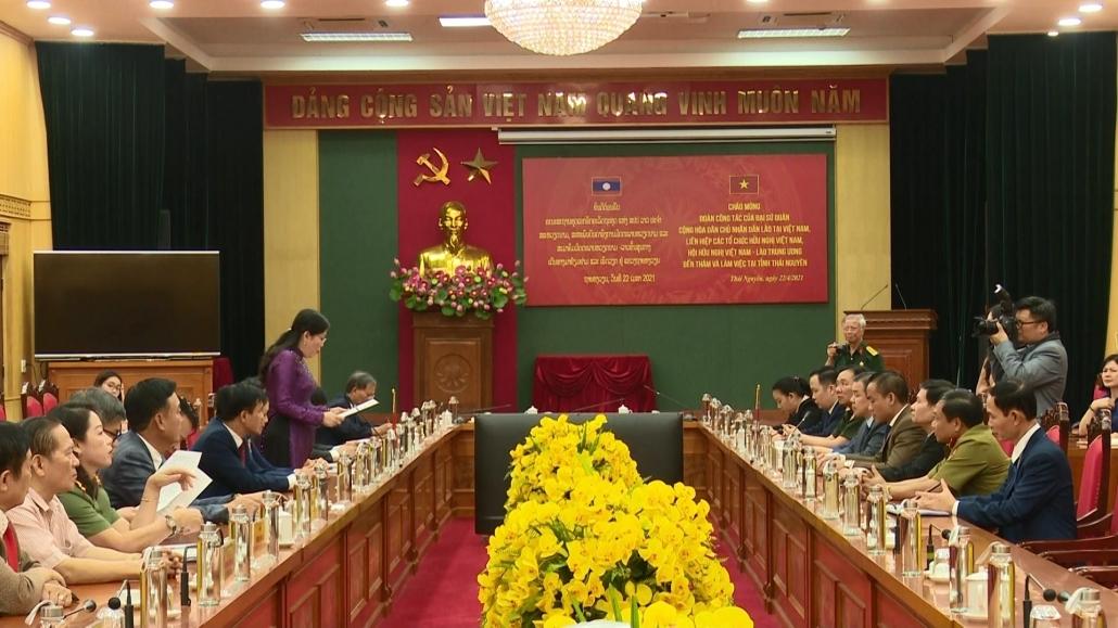 Lãnh đạo tỉnh tiếp Đại sứ nước Cộng hòa Dân chủ Nhân dân Lào