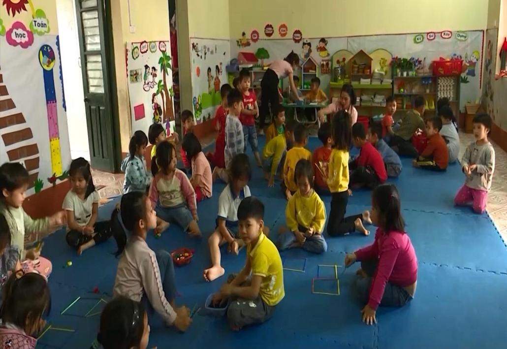 Thị xã Phổ Yên: Giải bài toán quá tải cho bậc mầm non
