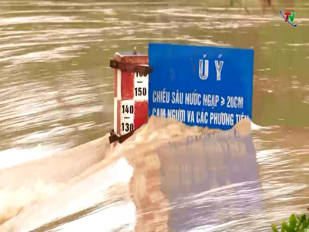 Kiểm tra công tác ứng phó với mưa, giông trên địa bàn tỉnh Thái Nguyên