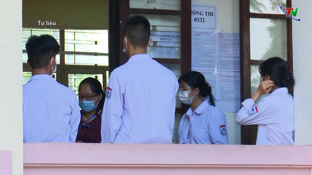 Các thí sinh của tỉnh Thái Nguyên sẽ tham gia Kỳ thi tốt nghiệp THPT đợt 2 tại tỉnh Bắc Giang