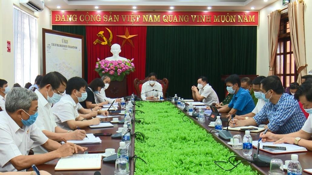 Tập trung rà soát, truy vết các trường hợp liên quan đến ca mắc COVID-19 tại huyện Phú Bình