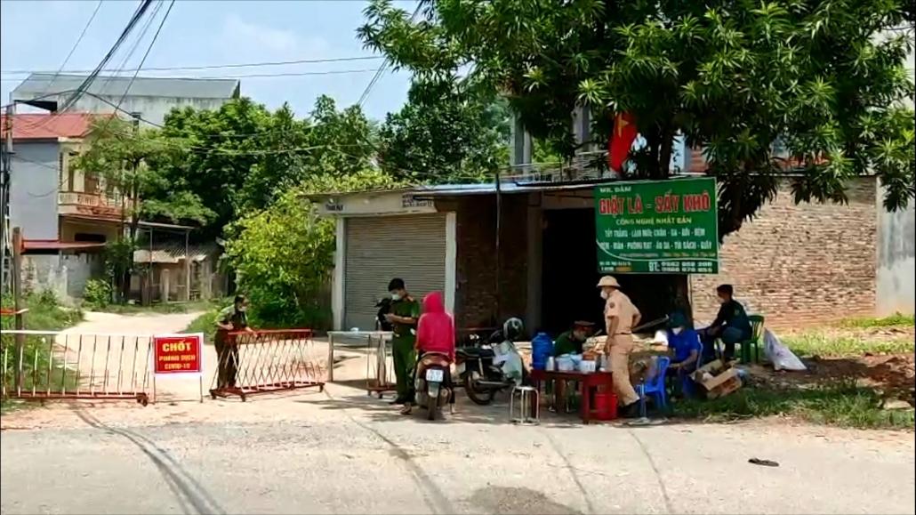 Phú Bình: Phong tỏa khu dân cư liên quan đến ca nghi mắc COVID-19