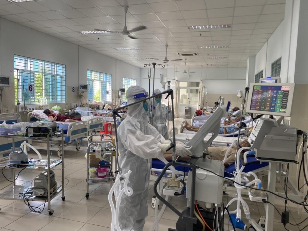 Đoàn tình nguyện y tế Thái Nguyên hỗ trợ chống dịch tại TP Hồ Chí Minh