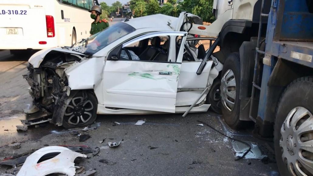 Tai nạn giao thông trên Quốc lộ 37