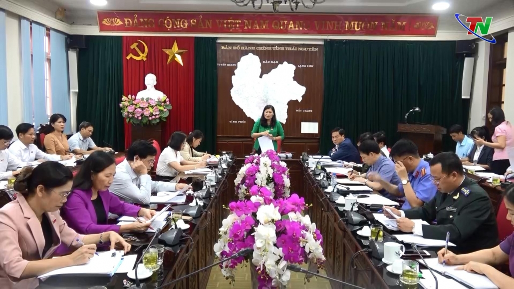 Thẩm tra các nội dung trình tại Kỳ họp HĐND tỉnh Thái Nguyên