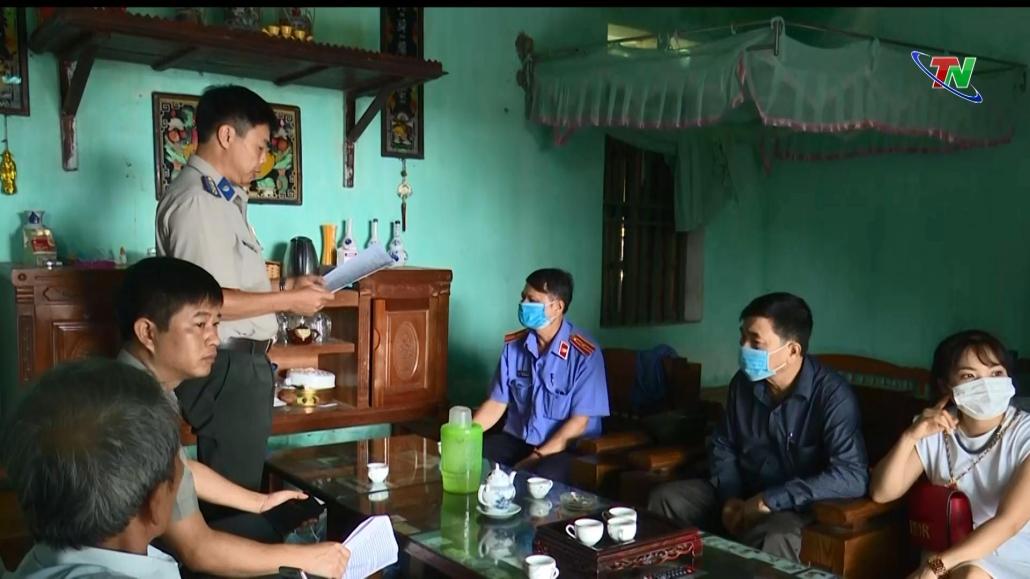 Thái Nguyên đẩy mạnh công tác thi hành án dân sự thu hồi nợ xấu của các tổ chức tín dụng